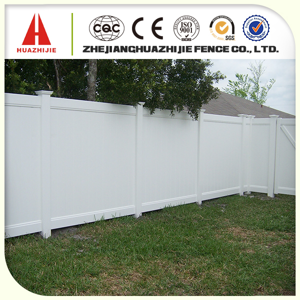 vinyl plastic privacy security fencing
