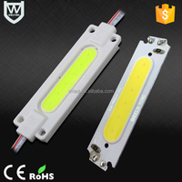 Waterproof IP65 dc 12V led injection module high power long working life CE Rohs white color led sign module for decoration