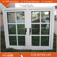 YY Home modern style aluminium casement window grills design pictures