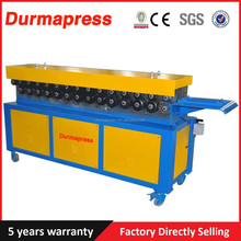 Easy operating Metal Sheet T-15 TDF Air Duct Flange Making Machine Manufacturer