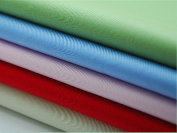 wholesale canvas dyed woven 100% cotton Twill Fabric White, Khaki & Blue