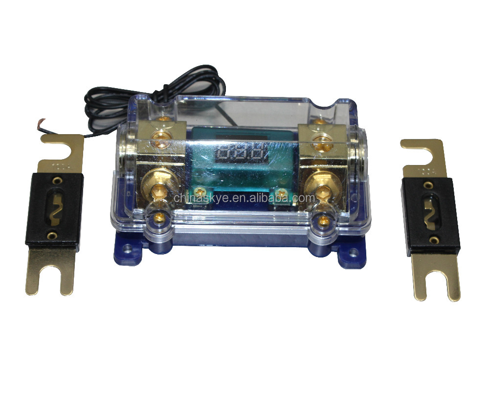 Wholesale Auto Fuse 12v Online Buy Best From China Rat Rod Box Digital Platinum Anl Dist Block 0 4 Gauge Strongfuse Strong