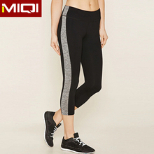 Diseño de moda wicking supplex mujeres sportswear mallas running