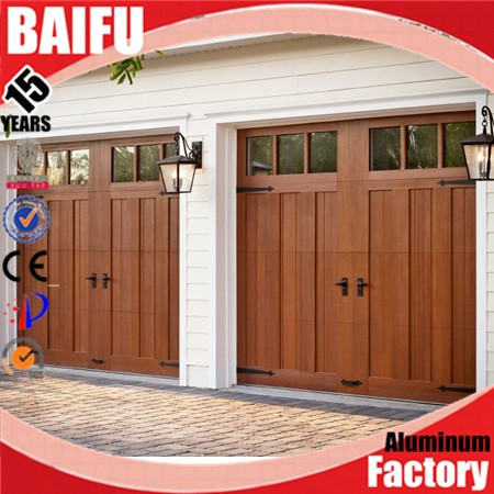 BaiFu Blue Color Aluminum Garage Door Skins Made In China Factory