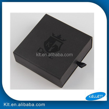 Custom Fancy Drawer Garment Packaging Box with handle