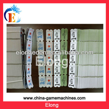 2014 Offer OEM game machine tickets, ticket for arcade game