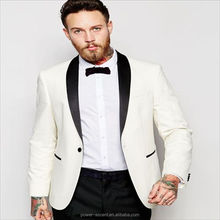 2016 mens top quality wedding suits for men white