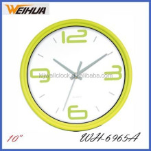 Wholesale fashion 10 inch sublimation clock