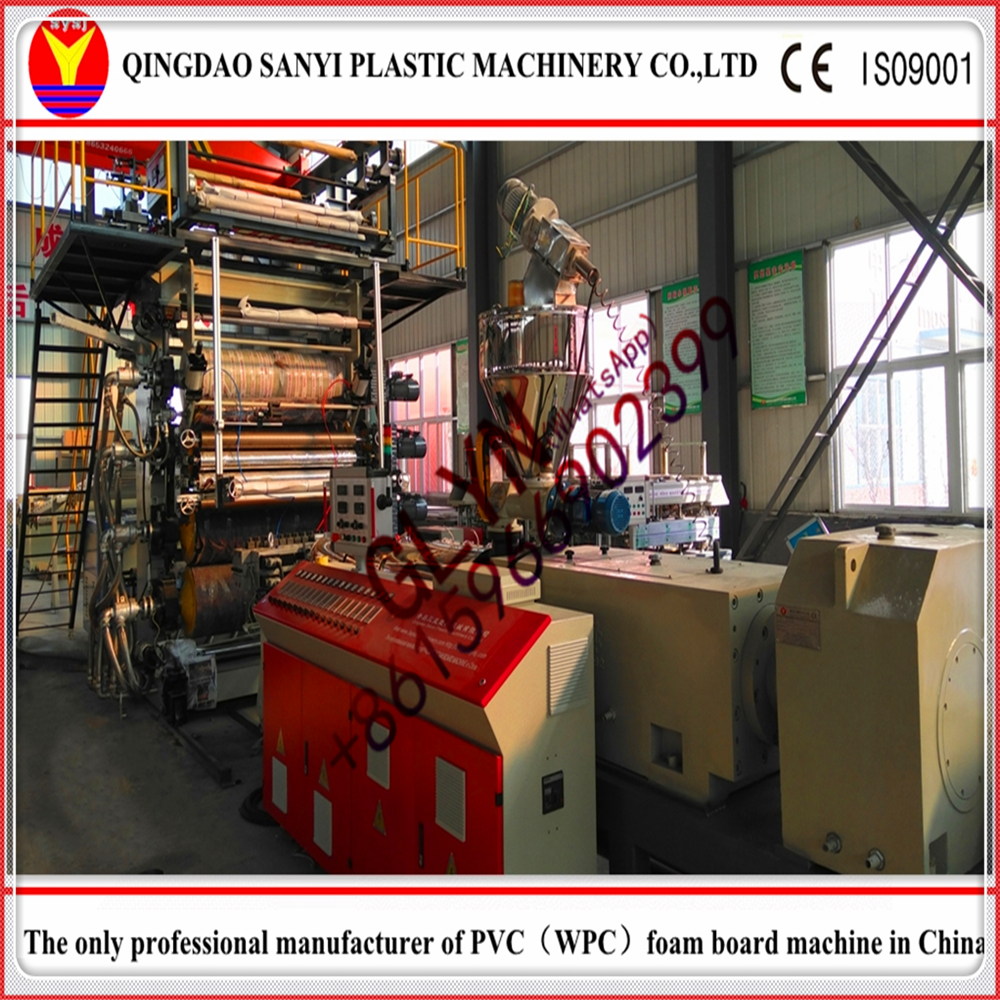 PVC floor mat production line/making machine/extruder