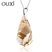 OUXI champagne imitation jewellery wholesale, artificial jewellery 30238