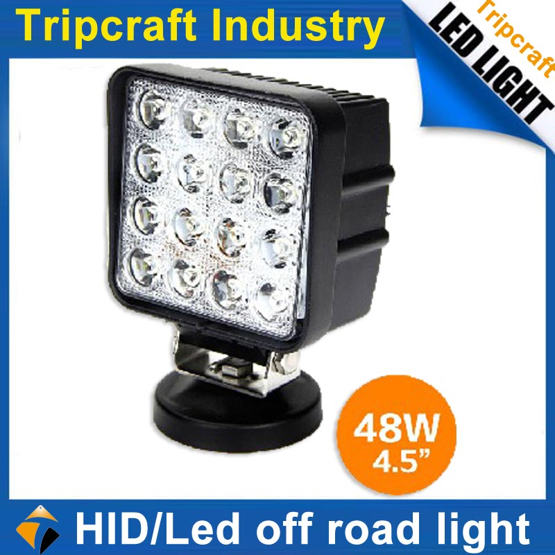 2016 Cheap Factory wholesale price 48w LED TRACTOR WORKING LIGHTS Led work light LED LIGHT BAR WORK LAMP tripcraft