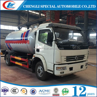 2016 new design 5m3 lpg cylinder cooking gas Tank Truck for sale