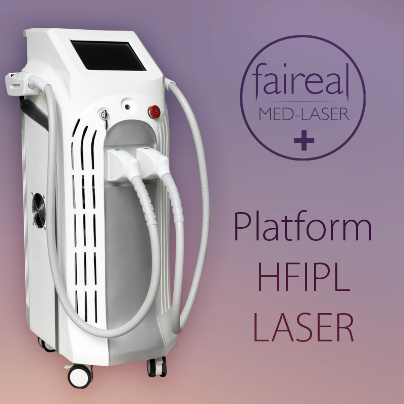 2015 Factory Directly Sale Multifunctional IPL & Laser Tattoo Removal Beauty Center Equipment