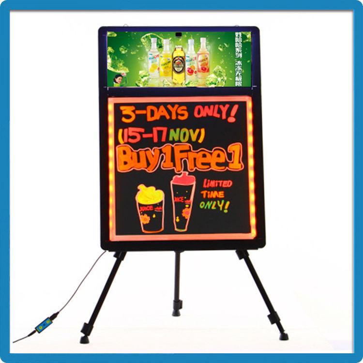 Top Selling Products In Alibaba Led Flashing Board Manufacturers With Your Logo Light Box