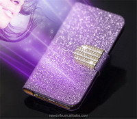 2015 bling bling cheap flip case for samsung galaxy note 3 bling rhinestone wallet phone case for samsung note3