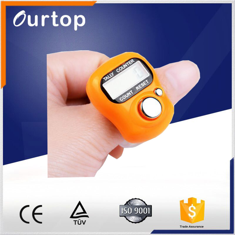 H0T10 digital hand ring finger tally counters digital length counter digital finger manual tally counter