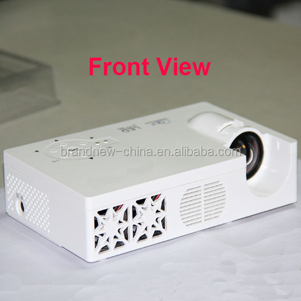 LED RGB Movie Projector,Video Projector,1280x800,High Definition,High Brightness,Smart Model