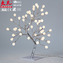 Holiday decoration yellow ball tree light christmas tree decoration