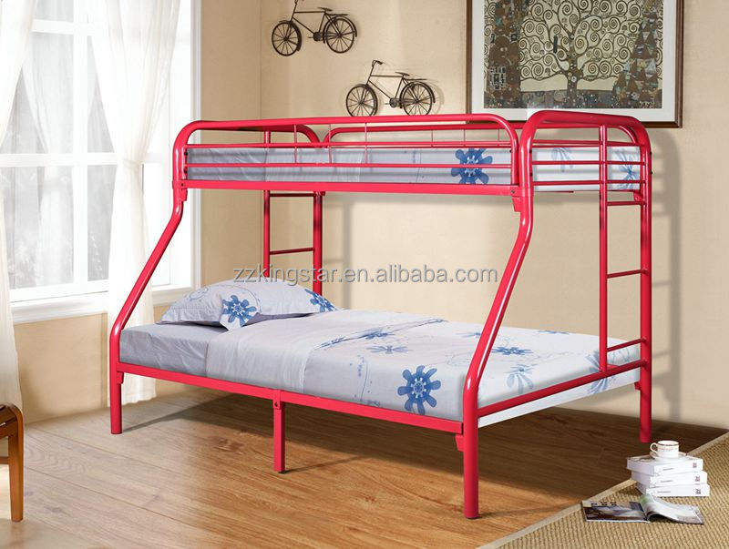 customized color metal bunk bed parts metal bunk bed frames wholesale