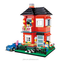 Nano Block In China Beautiful House Model Toy 2016 Of Villa Series