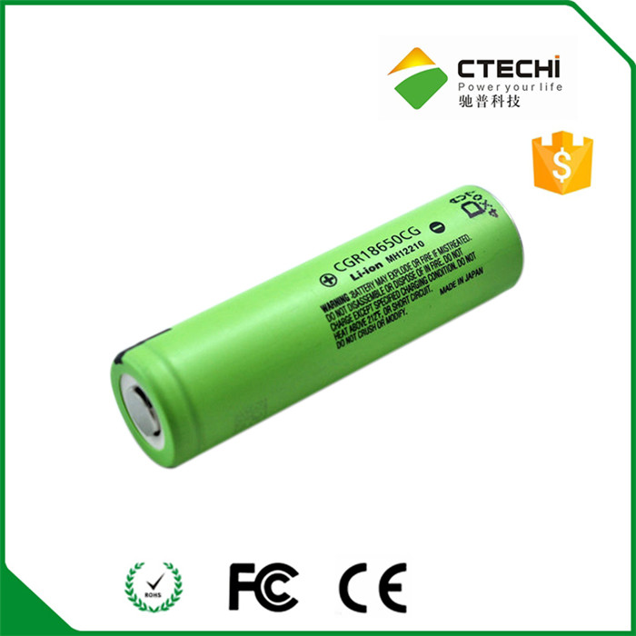 CGR18650 CG 2250mAh 3.7V Li-ion battery