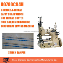 SHENPENG 80700CD4H double needle walking foot chain stitch FIBC machine