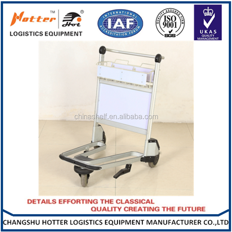 High quality airport luggage trolley/cart