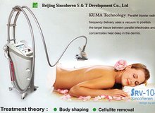 Syneron velashape machine for vacuum suction cellulite reduction, buttocks firming equipment,tummy tuck massage