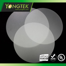 Round transparent Acrylic sheet LED plastic ceiling diffuser