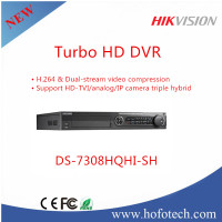 2016 Full 1080p Hikvision CCTV Security Turbo HD dvr 8-ch h.264 HDMI 12V DC DS-7308HQHI-SH