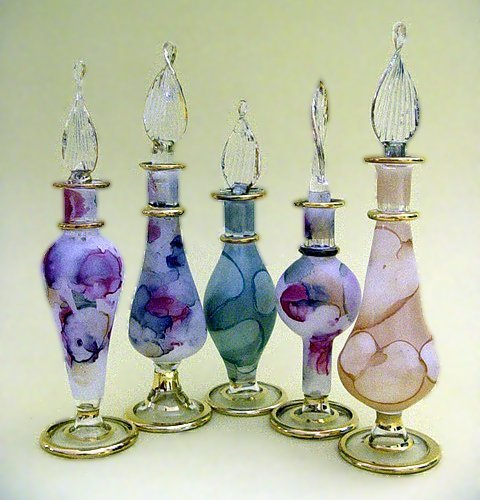 Egyptian Perfume Bottle Set