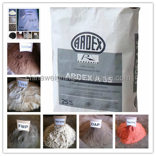 25kg Automatic Valve Paper Bag Cement Gypsum Powder Filler Packer