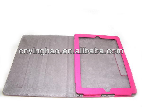 High quality antique microfiber+leather for iPad3 accessory