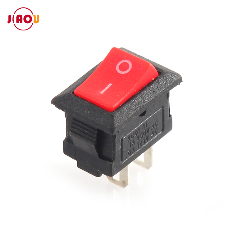JIAOU KCD11-101 2pin 2 position rocker <strong>switch</strong> <strong>10</strong> <strong>x</strong> 15 SPST mini boat <strong>switch</strong>