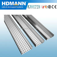 Water resistant aluminum cable tray cable support system SGS Tested manufactures