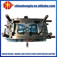 plastic injection mould manufacturer for car rearview mirror plastic injection mould making