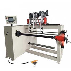 Three Heads Automatic PLC Controlled Multi Wires CNC Transformer Coil Winding Machine