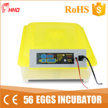 Dual power small capacity 56 poultry egg incubator YZ-56