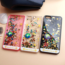 For Apple Iphone 7 ,Colorful TPU+PC Wallet Card Slots cell phone Case