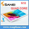 10.1 inch Android 1GB + 16GB Sanei N10 Quad Core Tablet PC