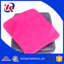15*15cm small size suede jewelry polishing cleaning cloth logo customize with paper case
