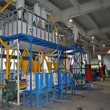 HOT SELLING New Tech Waste Tire Recycling Plant Rubber Powder Production Line