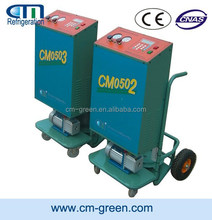 auto air conditioner recycling machine refrigerant reclaim machine trolley type unit CM06