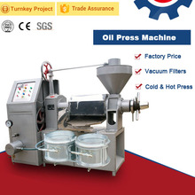 Top selling small portable vegetable corn wheat germ sunflower seed walnut palm kernel oil extraction machine