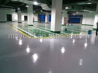 Maydos wearing resistant purpose chemical resistant epoxy paint for workshop floor