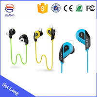 Bluetooth 4.1 stereo sport wireless noise cancelling bluetooth earphone manufacturer