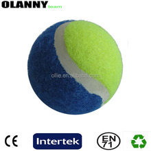 professional mini size tournament outdoor sport logo printing tennis ball felt material
