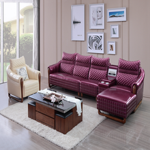 leather trend buffalo german recliner sectional sofa set