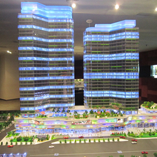 High rise scale architectural models miniature model factory