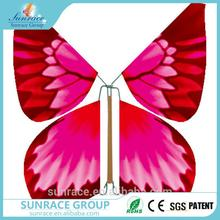New design Artificial handmade flying paper butterflies 3d puzzle butterfly toys wind up butterfly with low price